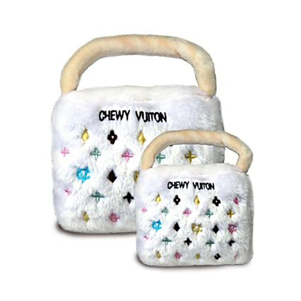 Chewy Vuiton  Purse Dog Toy - Lola & Penelope's