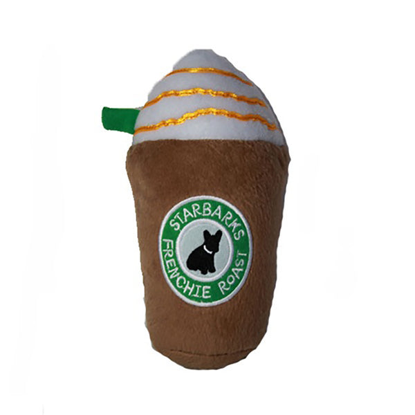 Starbarks Frappuchino Plush Dog Toy
