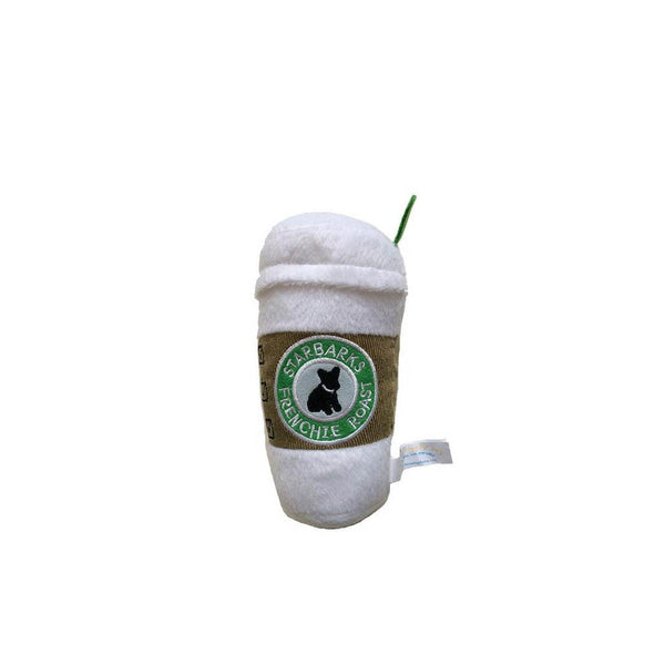 Starbarks Coffee Plush Dog Toy