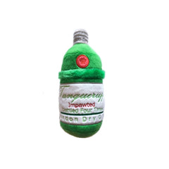 Tanqueruff Gin Bottle Plush Dog Toy