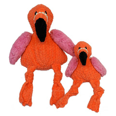 Knotties Flamingo Plush Dog Toy