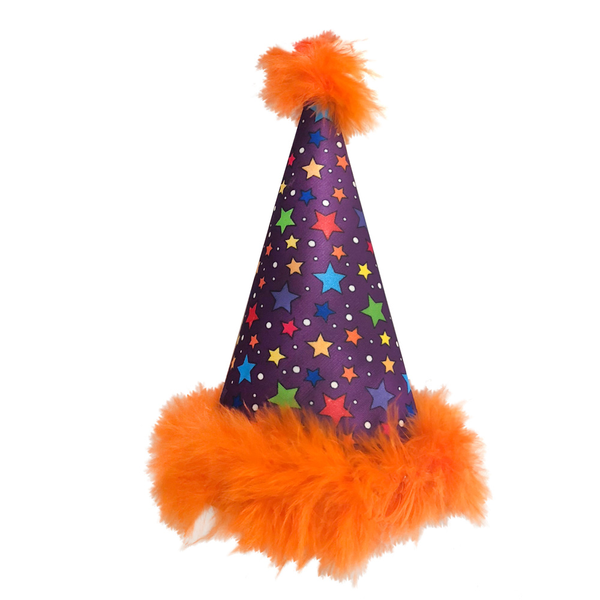 Circus Stars Dog Party Hat
