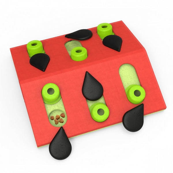 Puzzle & Play Melon Madness Interactive Cat Toy