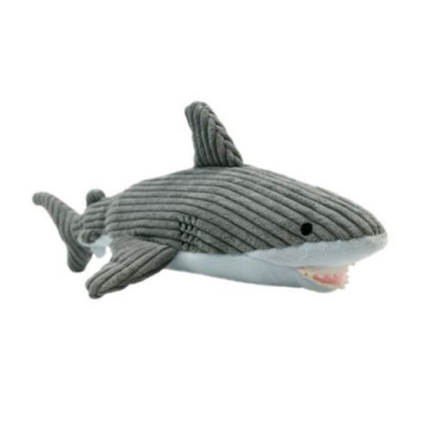 Crunch Shark Crinkle Plush Dog Toy