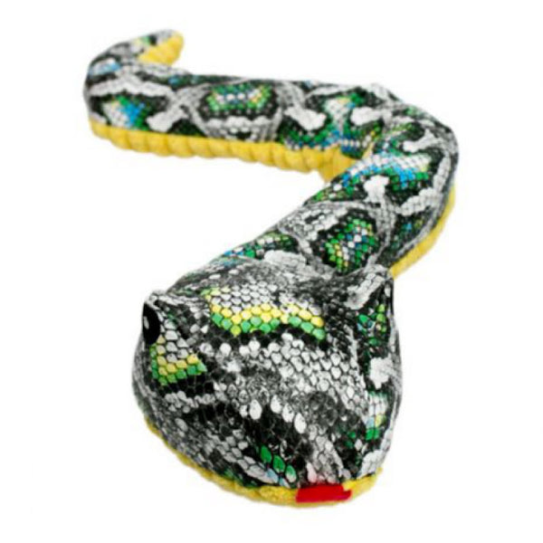 Crunch Snake Crinkle Plush Dog Toy
