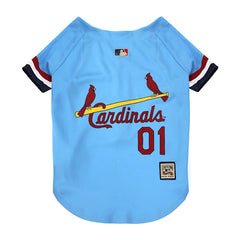 Light Blue St. Louis Cardinals Dog Jersey