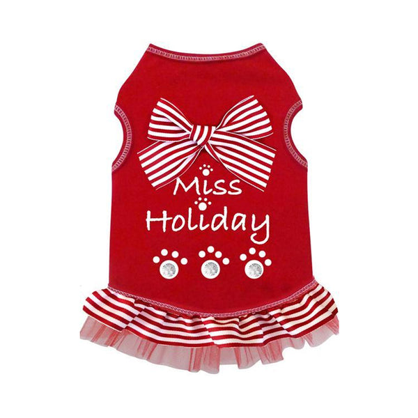Miss Holiday Dog Dress