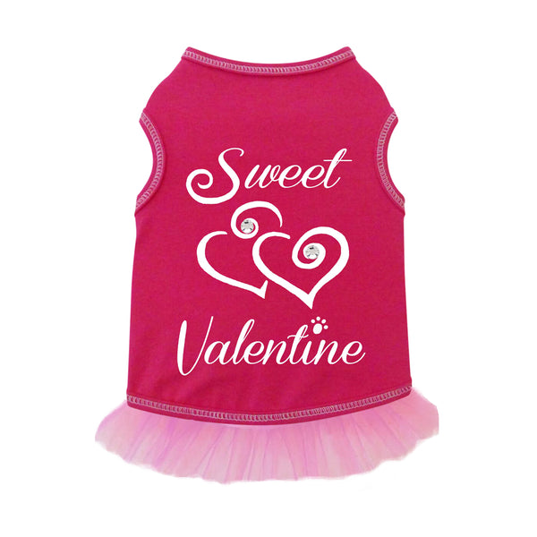 Sweet Valentine Dog Dress