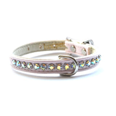 Jackie O Crystal Dog Collar