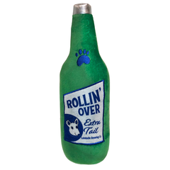 Rollin' Over Bottle Plush Dog Toy