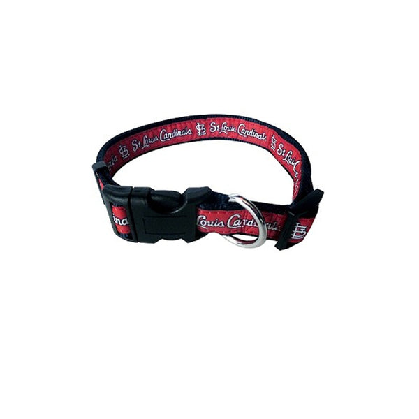St. Louis Cardinals Red Dog Collar & Lead