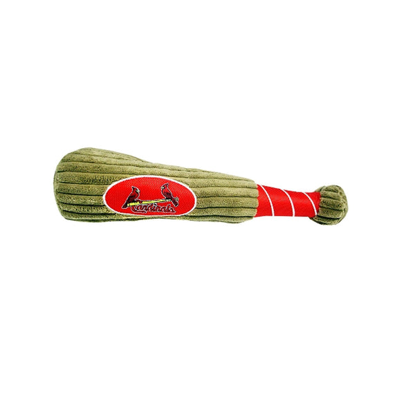 St. Louis Cardinals Baseball Bat Plush Dog Toy