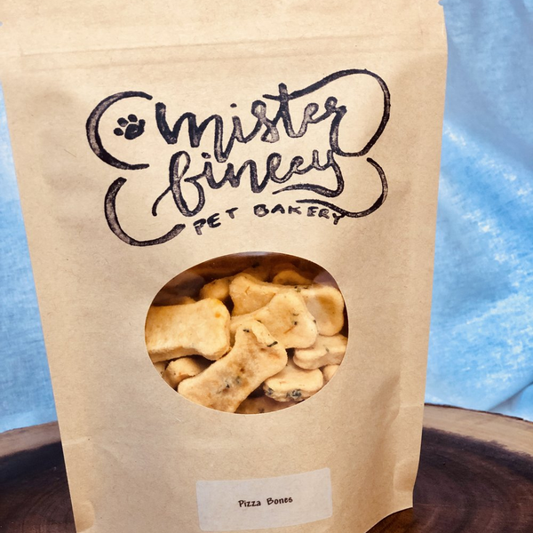Mister Finley Pizza Bone Dog Treats