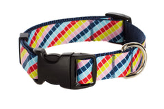 Candy Striped Dog Collar and Dog Leash - Lola & Penelope's