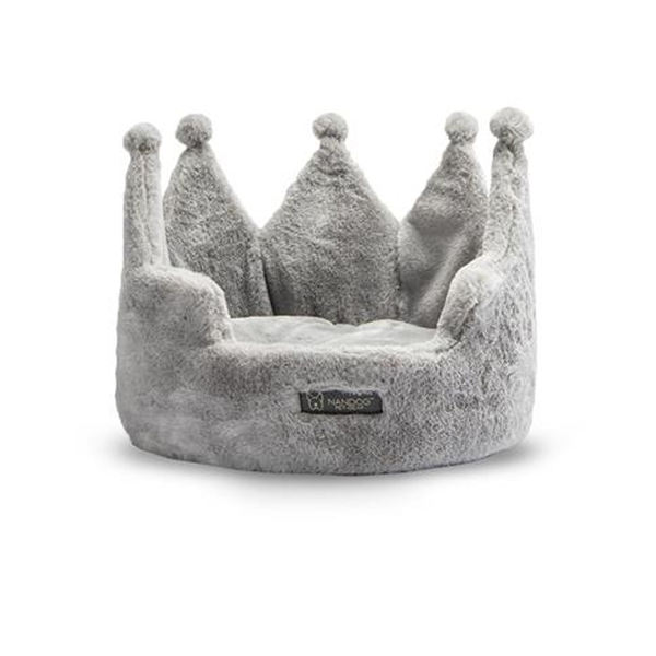 Crown Dog or Cat Bed
