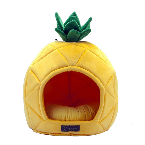 Pineapple Dog or Cat Bed