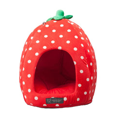 Strawberry Dog or Cat Bed