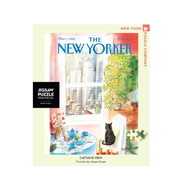 New York Jigsaw Puzzles - Cats Eye View