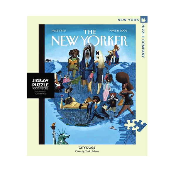 New York Jigsaw Puzzles - City Dogs