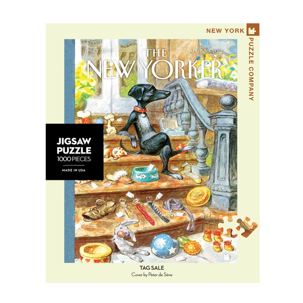 New York Jigsaw Puzzles - Tag Sale