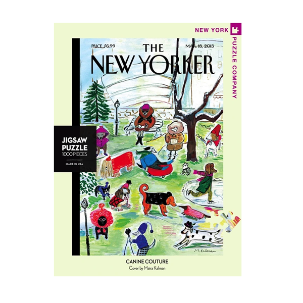 New York Jigsaw Puzzles - Canine Couture