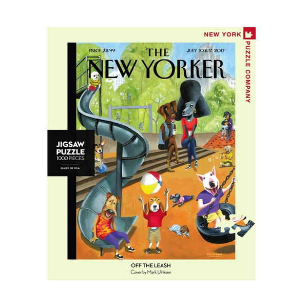 New York Jigsaw Puzzles - Off the Leash
