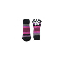 PAWKS Striped Anti-Slip Dog Socks