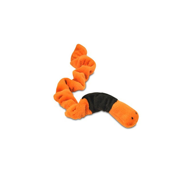 Bugging Out Earthworm Plush Dog Toy
