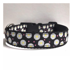 Glitter Daisy Dog Collar