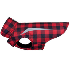 Buffalo Plaid Shasta Dog Coat