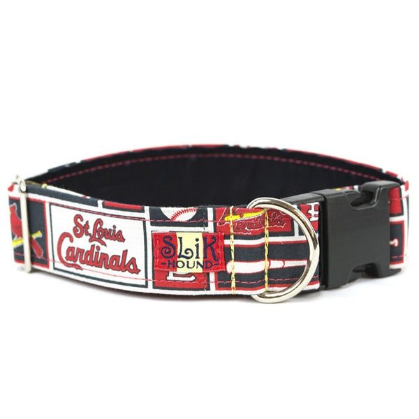 Navy St. Louis Cardinals Dog Collar