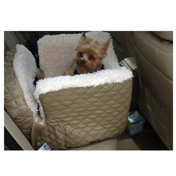 Small Quilted Lookout Dog Car Seat