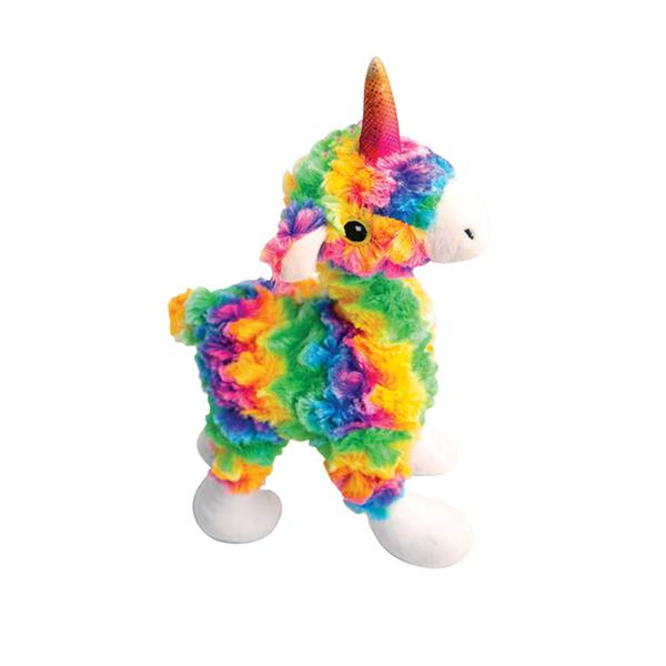 Llama Mia Plush Squeaker Dog Toy