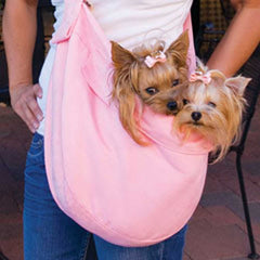 Cuddle Carrier Luxury Dog Sling - Lola & Penelope's