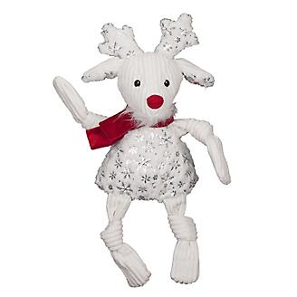 Knotties Holiday Sparkle & Shine Reindeer Plush Dog Toy