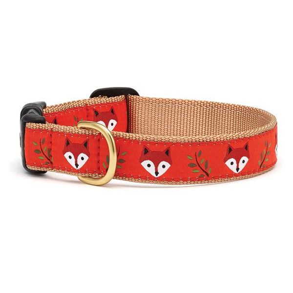 Foxy Dog Collar & Matching Lead Available