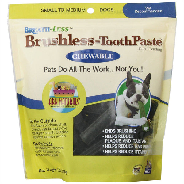 Brushless-ToothPaste Chewable Treats For Dogs - Lola & Penelope's