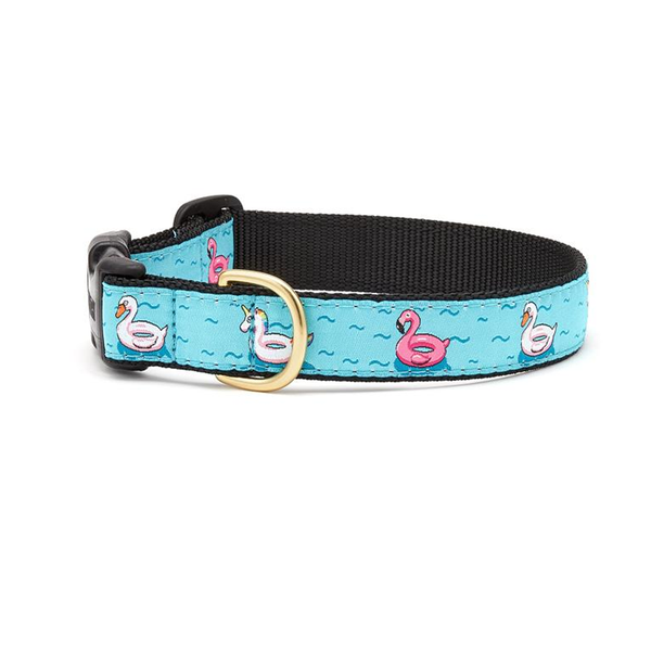 Pool Floaties Dog Collar