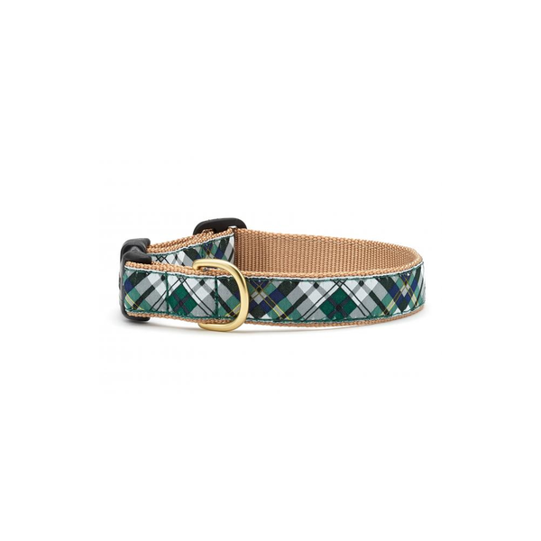 Gordon Plaid Dog Collar