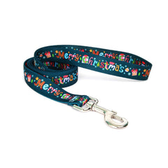 Merry Christmas Collar With Matching Lead Available