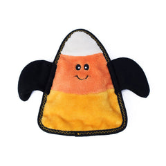 Halloween Z-Stitch Candy Corn Bat Squeaker Dog Toy