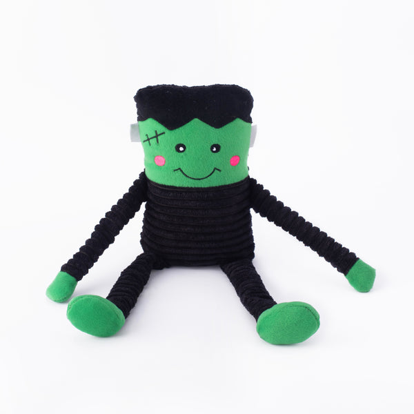Halloween Crinkle Frankenstein's Monster Dog Toy
