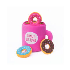 Coffee & Donutz Hide and Seek Dog Toy