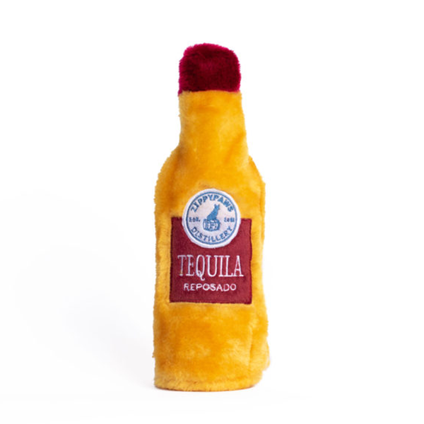 Happy Hour Crusherz Tequila Bottle Crinkle Dog Toy