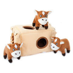 Horse N Hay Hide and Seek Dog Toy