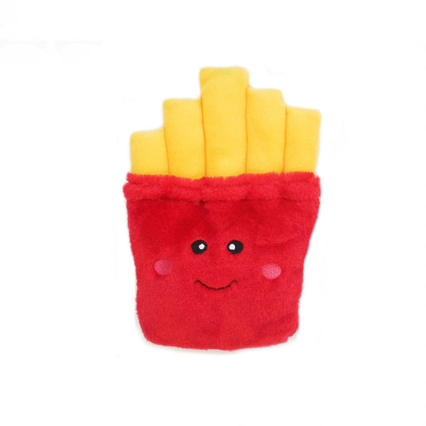 NomNomz Fries Plush Squeaker Dog Toy