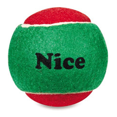 Holiday Naughty and Nice Tennis Ball 6 Pack - Lola & Penelope's