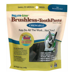 Chewable Brushless Dog Toothpaste Dental Treats - Lola & Penelope's