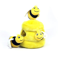 Hide A Bee Plush Hide and Seek Dog Toy - Lola & Penelope's