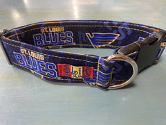 St. Louis Blues Mascot Dog Collar